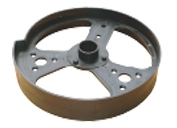 Plastic Pulley Plastic Drum Wheel
