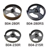 Plastic Pulley Plastic Drum Wheel